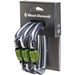 Black Diamond Positron Carabiner Screwgate - 3 Pack