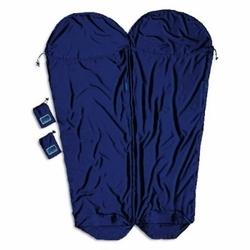 Click to enlarge image of Cocoon MummyLiner Silk Coupler Sleeping Bag Liner (One)