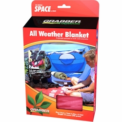 Click to enlarge image of Grabber - MPI Space All Weather Blanket (Original or Hooded)