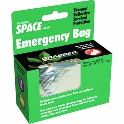 Click to enlarge image of Grabber - MPI Space Emergency Sleeping Bag