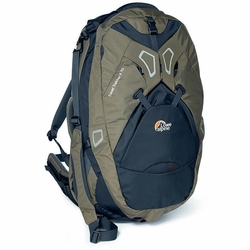 Click to enlarge image of Lowe Alpine Travel Trekker II 70 Travel Pack
