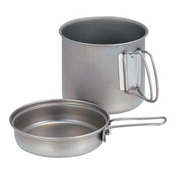 Click to enlarge image of Snow Peak Trek 1400 Titanium Cookset