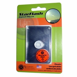 Click to enlarge image of Ultimate Survival Star Flash Signal Mirror