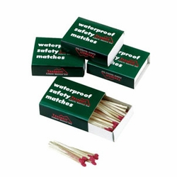 Click to enlarge image of Waterproof Safety Matches by Texsport