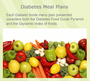 Diabetic 28-DAY Meal Plans: 1000-2400 Calorie Menus