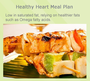 Heart Healthy 28-DAY Meal Plan Menus: 1100-2800 Calories