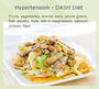 Hypertension DASH Diet Meal Plans: 1200-3000 Calories