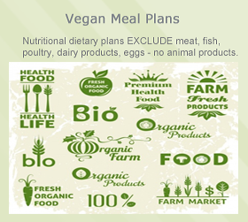 Vegan Meal Menus: 28 DAYS, 1000-2800 Calories 4 Weeks