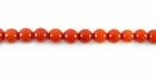 Bamboo Coral Round Beads