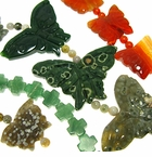 Butterfly & Cross Shaped Gemstones