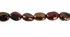 Dark Copper Rice Keshi Pearls 5x8mm