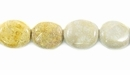Fossil Coral Oval Beads