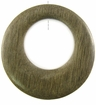 Graywood Off-Center Donut Pendant 45mm