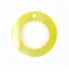"Hammershell ""O"" Ring 20mm Shell Beads"