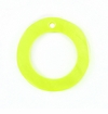 "Hammershell ""O"" Ring Yellow Green 20mm"