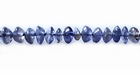 Iolite Button Beads 4mm