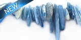 Kyanite blue sticks 15-30mm