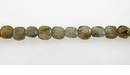 Labradorite Flat Square Beads 6x6mm