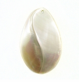 Mother Of PearlFlat Back Shell Pendants