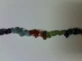 "Multicolor Dyed Chips 36"" 6mm"
