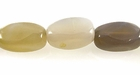 Natural Gray Large Agate Nugget Beads 10-20mm