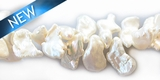 Pearl keshi white 7-8mm
