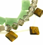 Rectangular, Square, Cube & Bicone Beads