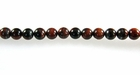 Red Tiger-Eye Round Beads 6mm