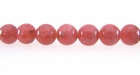 Rhodochrosite Round Beads 6mm