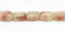 Rhodonite Faceted Drums 6x8mm