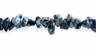Snowflake Obsidian Chip Beads 5-8mm