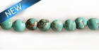 Stab. turquoise 4-4.5mm round