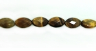 Tiger Eye Oval Faceted