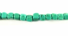 Turquoise Cube Stabilized 4mm