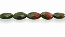 Unakite Oval Faceted