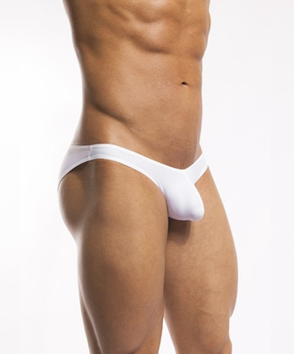 CockSox Swim Brief White Reveal