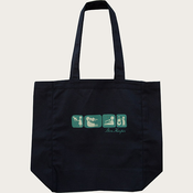 2013 Acoustic Tour Black Tote Bag