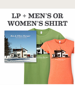 Ben & Ellen Harper - Childhood Home LP + Shirt