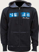 Ben Harper 2013 Acoustic Tour Hooded Sweatshirt
