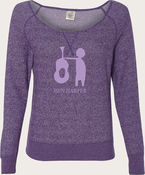Ben Harper 2013 Acoustic Tour Off The Shoulder Crew Sweatshirt