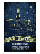 Ben Harper and Charlie Musselwhite New York 01.29.13 Poster
