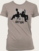 Ben Harper & Charlie Musselwhite - Get Up! Session Tee (Warm Gray)