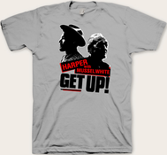 Ben Harper & Charlie Musselwhite - Get Up! Tee (Light Gray Edition)
