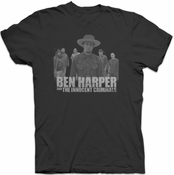 Ben Harper & The Innocent Criminals Mens Silhouette Tee (Black)