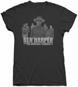 Ben Harper & The Innocent Criminals Womens Silhouette Tee (Black)