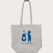 Guitar Guy Canvas Tote Bag