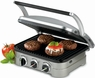 Cuisinart Gourmet Griddler GR-4N 5-in-1 Grill, Panini, Griddle