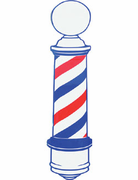 Barber bpd Pole decal