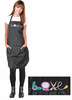 "Betty Dain 281 Embroidered ""Love"" Stylist Apron"