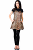 Betty Dain Leopard Couture Apron Style 181